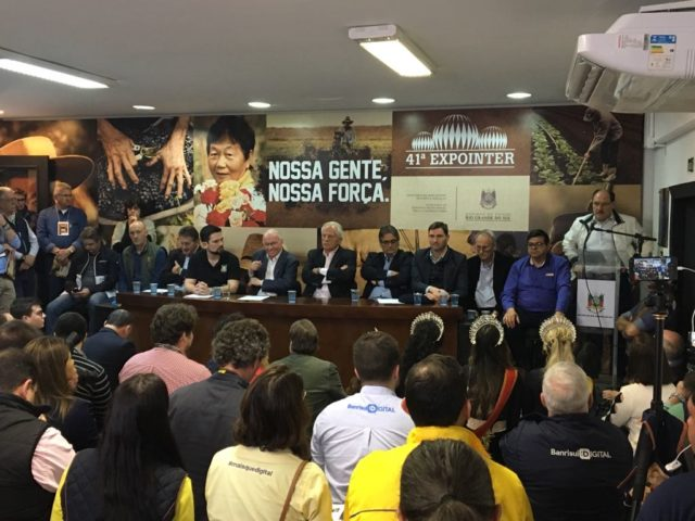 coletiva final Expointer 2018