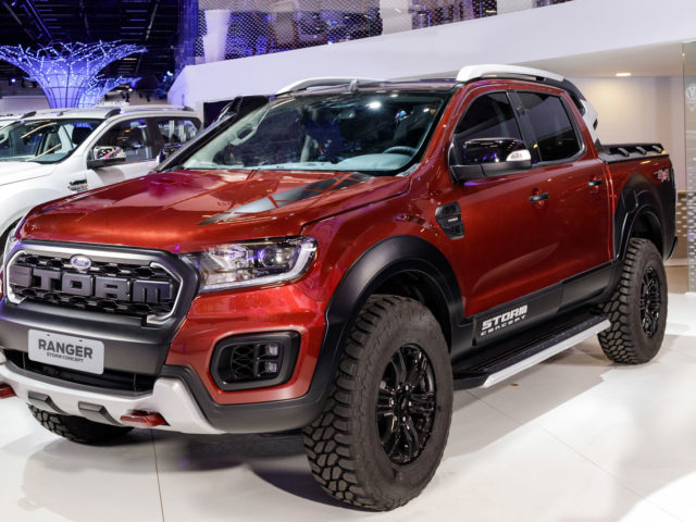 picapes ford ranger storm